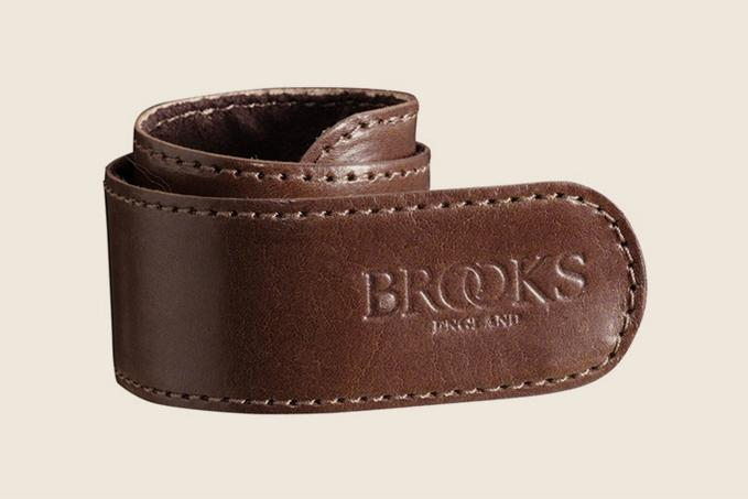 Brooks Trouser Strap Brown MED